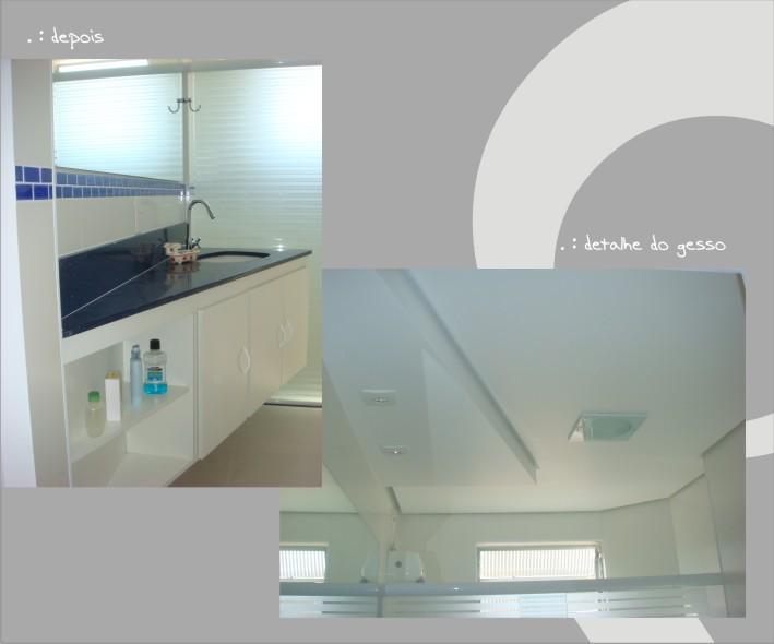 Fotos internas do Banheiro